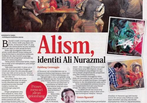 Alism -Identiti Ali Nurazmal (Sinar Harian Paper)