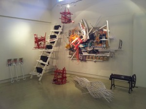 Freedom-Native-Occupier-Immigrant.-Mixed-Media-Installation-with-life-birds.-variable-size.-2010-12