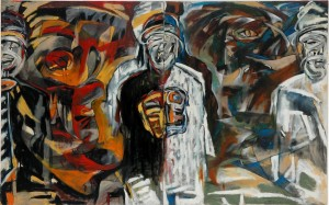 Lost Series Identity Crisis. Oil on Canvas. 96cm x155cm.1994