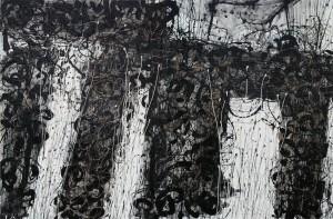 Eight.127cm x 97cm. Acrylic on Canvas. 2007