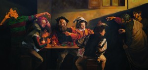 Imitation-Master-After-Caravaggio-II.Oil-on-canvas.168cm-x352cm.2012
