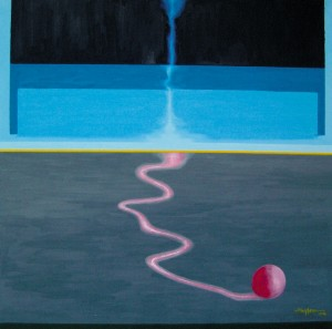 The Drop, 90cm x 90cm, Oil on Canvas, 2004
