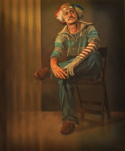 Ali Nurazmal Yusoff, Monologue, Oil on Canvas, 148cm x 118cm, 2012