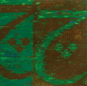 Husin Hourmain, Cha, Acrylic on Canvas, 152 cm x 152 cm, 2015
