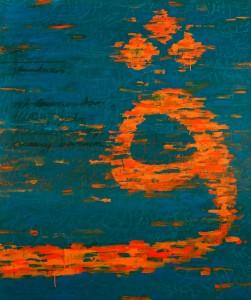 Husin Hourmain, Pa, Acrylic on Canvas, 153 cm x 122 cm, 2015