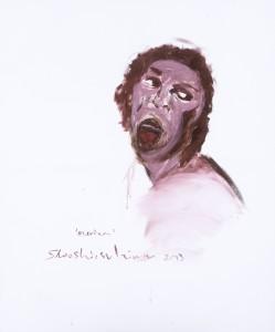 Shooshie-Sulaiman,-Purely-Love-Meriam,-Acrylic-on-Canvas,-120-cm-x-100-cm,-2013