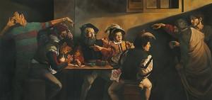 Ali Nurazmal Yusoff Imitation Master After Caravaggio II Oil on Canvas 168cm x 352cm 2012